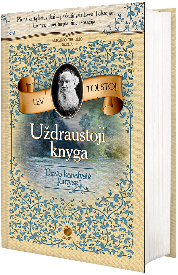 Uždraustoji knyga. Dievo karalystė jumyse | Lev Tolstoj