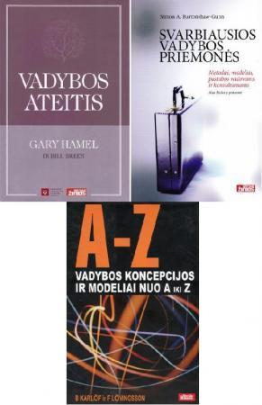 Vadybos knygų komplektas (3 knygos už 2 knygų kainą) |