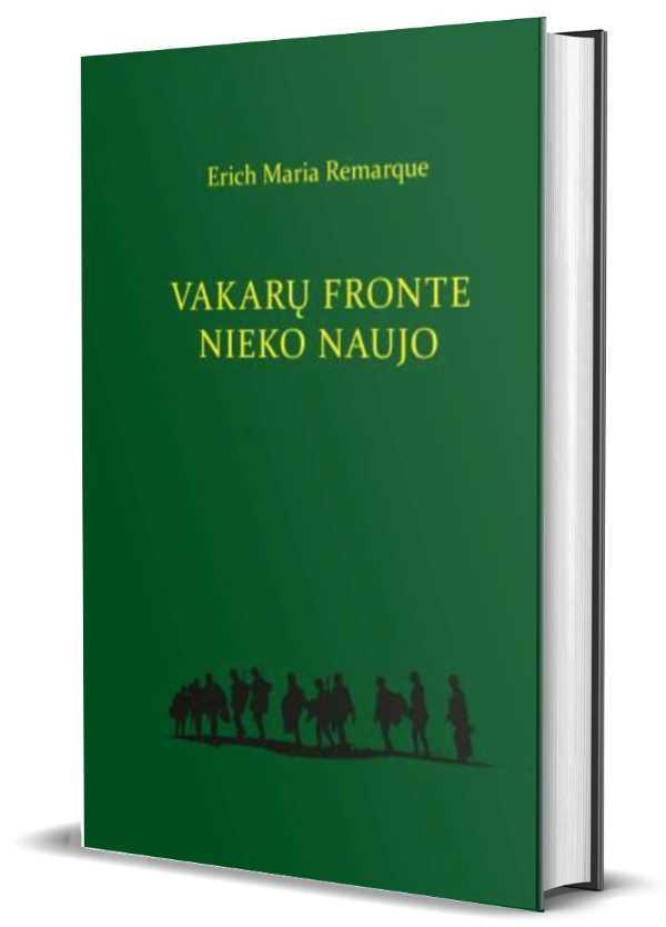 Vakarų fronte nieko naujo (Munken Premium) | Erich Maria Remarque