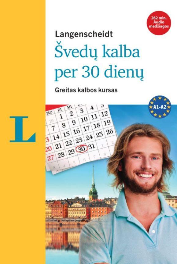 Švedų kalba per 30 dienų (su 3CD audio medžiaga) | Paola Kucera, Elisabeth Timmermann