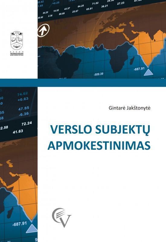 Verslo subjektų apmokestinimas | Gintarė Jakštonytė