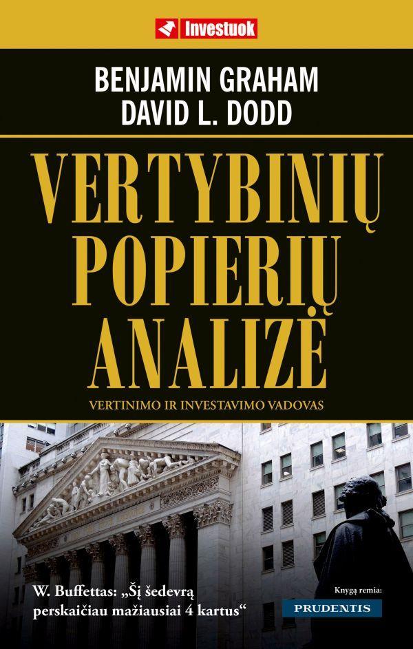 Vertybinių popierių analizė   Benjamin Graham, David L. Dodd