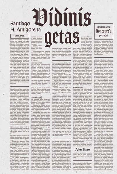 Vidinis getas | Santiago H. Amigorena