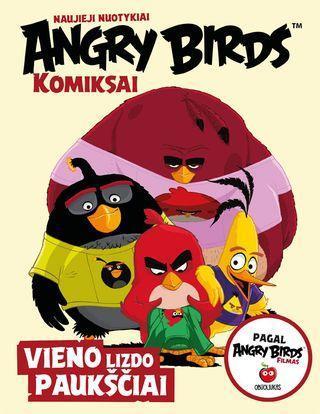 Angry Birds. Komiksai. Vieno lizdo paukščiai |