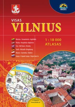 Atlasas. Visas Vilnius 1:18000 |