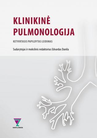 Klinikinė pulmonologija (4-as leidimas) | Sud. Edvardas Danila
