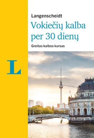 Vokiečių kalba per 30 dienų (su 3 CD)   Christoph Obergfell