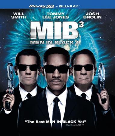 Vyrai juodais drabužiais 3 (DVD) |