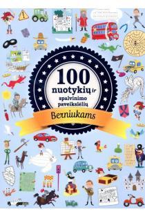 100 nuotykių ir spalvinimo paveikslėlių berniukams | Mathilde Paris