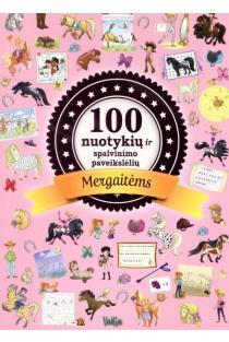 100 nuotykių ir spalvinimo paveikslėlių mergaitėms | Mathilde Paris