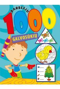 1000 darbelių ir galvosūkių (4-7 metų vaikui) |