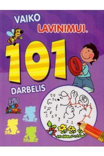 101 darbelis vaiko lavinimui (violetinė) |