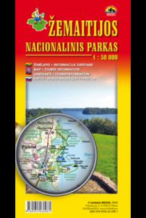 Žemaitijos nacionalinis parkas 1:50000  
