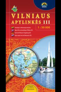 Vilniaus apylinkės III. Žemėlapis 1:50000  