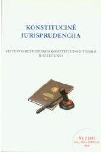 Konstitucinė jurisprudencija Nr. 2 (18) |