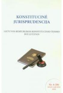 Konstitucinė jurisprudencija Nr. 4 (20) 2010 |