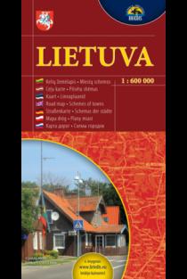 Lietuva. Kelių žemėlapis 1:600000  