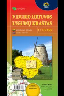 Vidurio Lietuvos lygumų kraštas 1:130000 |