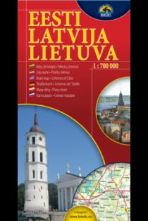 Eesti, Latvija, Lietuva 1:700000 |