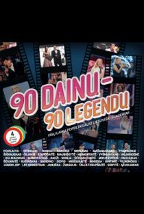 90 dainų - 90 legendų (4CD) |