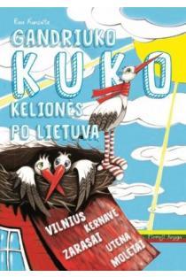 Gandriuko Kuko kelionės po Lietuvą. 1-oji knyga | Rasa Kuncaitė, Gintarė Markevičienė, Jūratė Zailskienė