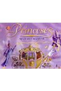 Princesės. Apvedžiok ir nuspalvink | Iliustr. Fiona Sansom