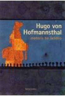 Moteris be šešėlio | Hugo von Hofmannsthal