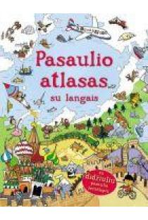 Pasaulio atlasas su langais | Leake Kate, Frith Alex