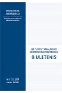 Lietuvos vyriausiojo administracinio teismo biuletenis Nr. 7 (17) |
