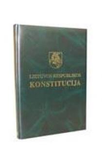 Lietuvos Respublikos Konstitucija (lietuvių ir anglų k.) |