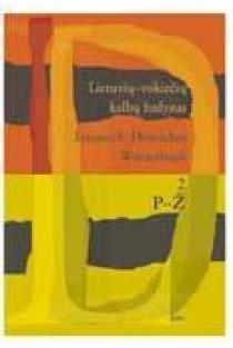 Lietuvių-vokiečių kalbų žodynas, 2 tomas (P-Ž) | Sud. Vytautas Balaišis
