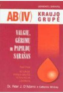 AB (IV) kraujo grupė. Valgių, gėrimų ir papildų sąrašas | Dr. Peter J. D'Adamo, Catherine Whitney