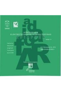 Aiškinamasis elektrotechnikos terminų žodynas (CD) | Stasys Žebrauskas
