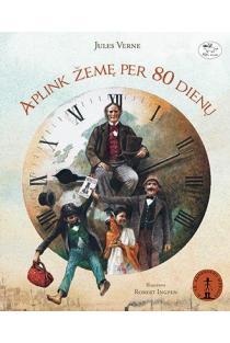 Aplink Žemę per 80 dienų | Jules Verne (Žiulis Vernas)