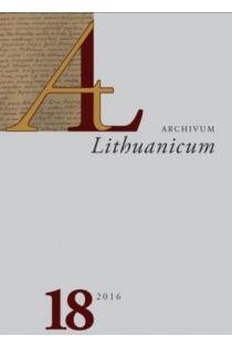Archivum Lithuanicum 18 |