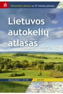 Lietuvos autokelių atlasas  