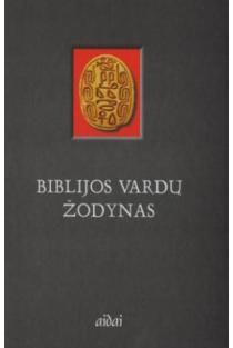Biblijos vardų žodynas | Sud. Petras Kimbrys