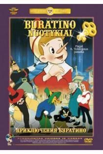 Buratino nuotykiai (DVD) | Animacinis filmas