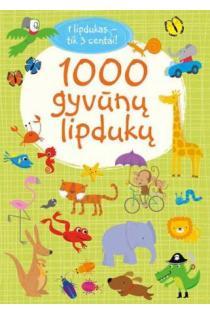 1000 gyvūnų lipdukų | Fiona Watt