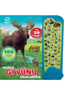 Didžioji gyvūnų enciklopedija. Per 50 nuostabių garsų  