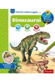 Dinozaurai. Pažintinė veiklos knygelė |