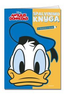 Antulis Donaldas. Spalvinimo knyga (su lipdukais ir kauke) |