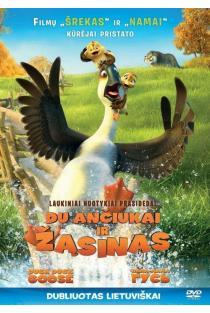Du ančiukai ir žąsinas (DVD) |