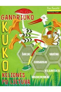 Gandriuko Kuko kelionės po Lietuvą. 4-oji knyga | Gintarė Markevičienė, Jūratė Zailskienė, Rasa Kuncaitė