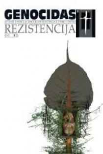 Genocidas ir rezistencija 2013, 1 (33) |