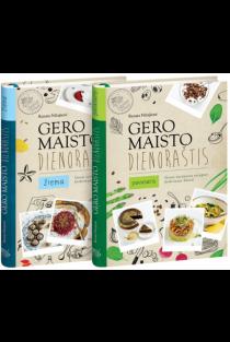 KOMPLEKTAS. Gero maisto dienoraštis. Žiema + Pavasaris | Renata Ničajienė