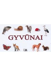 """Gyvūnai (serija """"knyga-armonikėlė"""")  """