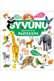 Gyvūnų enciklopedija mažiesiems | Cecile Jugla