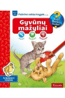 Gyvūnų mažyliai. Pažintinė veiklos knygelė |