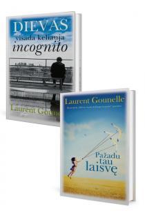 KOMPLEKTAS. Laurent Gounelle. Dievas visada keliauja incognito + Pažadu tau laisvę | Laurent Gounelle
